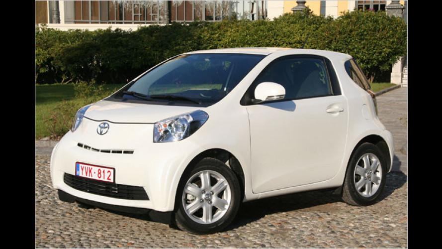 Toyota iQ: Drei-Meter-Innenraumwunder als Smart-Gegner