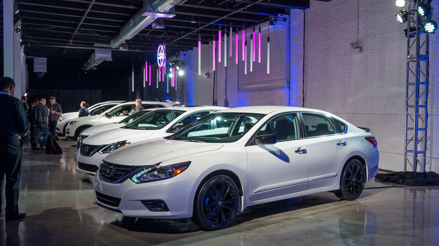 Nissan offers Midnight Edition package for six models