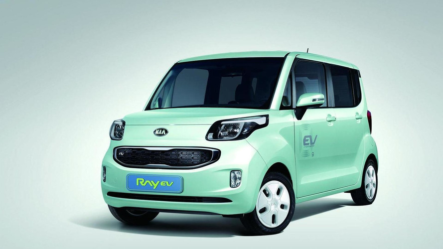 Kia Ray EV introduced, Korea's first electric vehicle