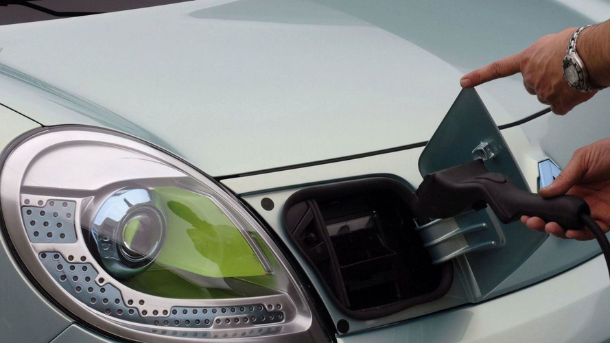 Renault Kangoo be bop Z.E. Electric Vehicle Demonstrator Introduced