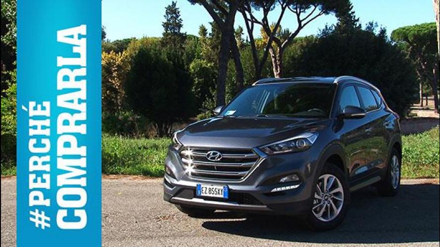 Hyundai Tucson, perché comprarla... e perché no [VIDEO]