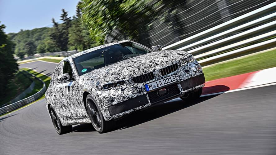 BMW Serie 3, i collaudi endurance al 'Ring