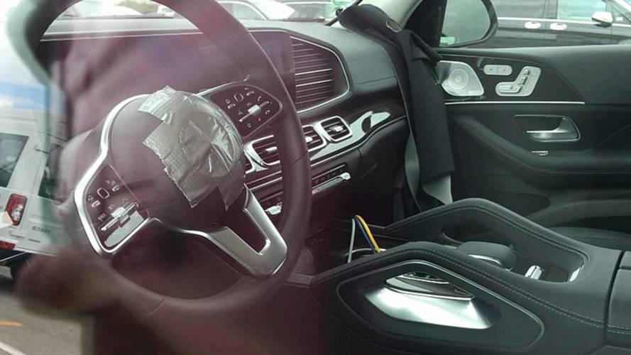 Mercedes-Benz GLE-Class Interior Spy Shots