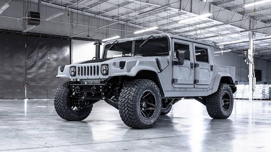 Hummer H1, con especificaciones militares, ahora puede ser tuyo