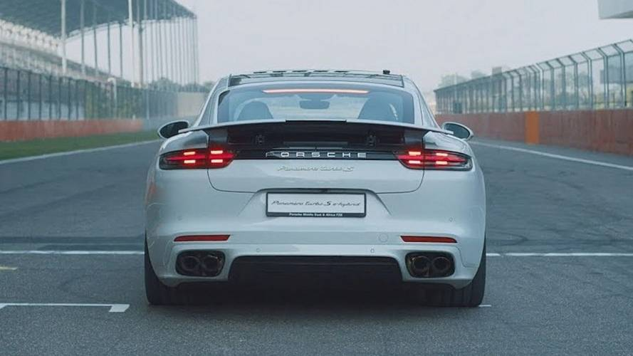 Watch Porsche Panamera Turbo S E-Hybrid Take Down 6 Track Records