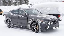 2019 Maserati Levante GTS new spy photos