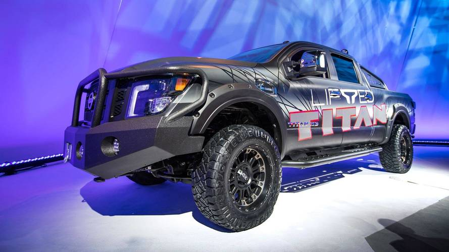Nissan Titan Gets A Raise From Factory 3-Inch Lift Kit