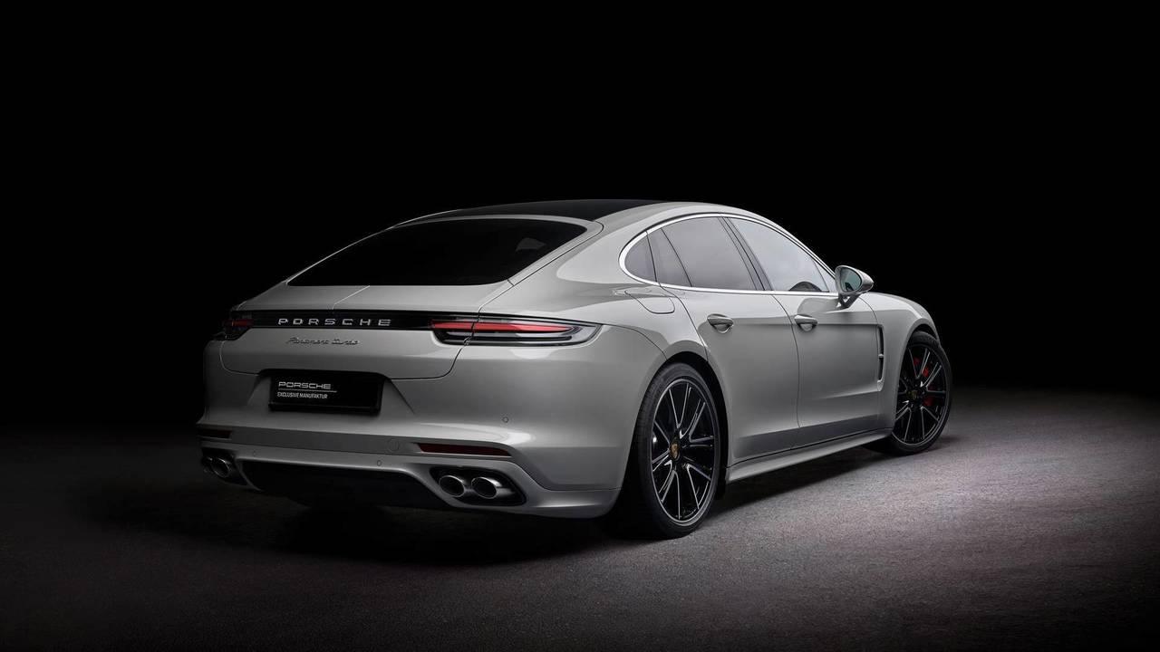 Porsche Exclusive Manufaktur'dan özel bir Panamera