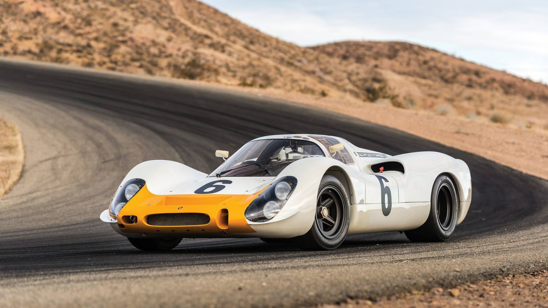 Auction-Bound Porsche 908 Short-Tail Is Vintage Race Car Perfection