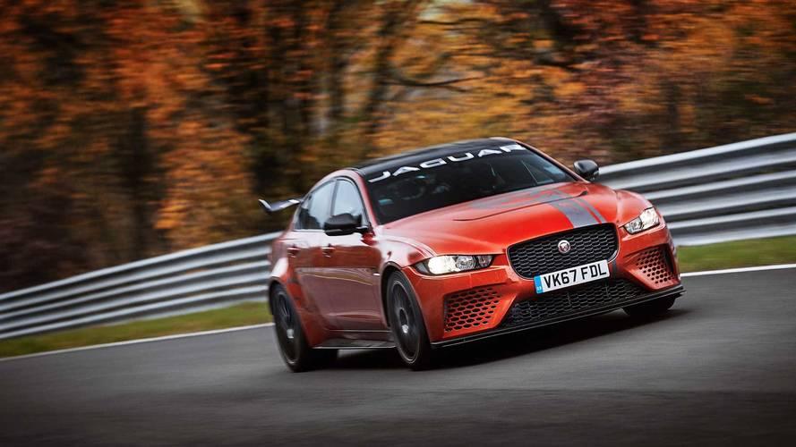 Vídeo del Jaguar XE SV Project 8 batiendo el récord de Nürburgring