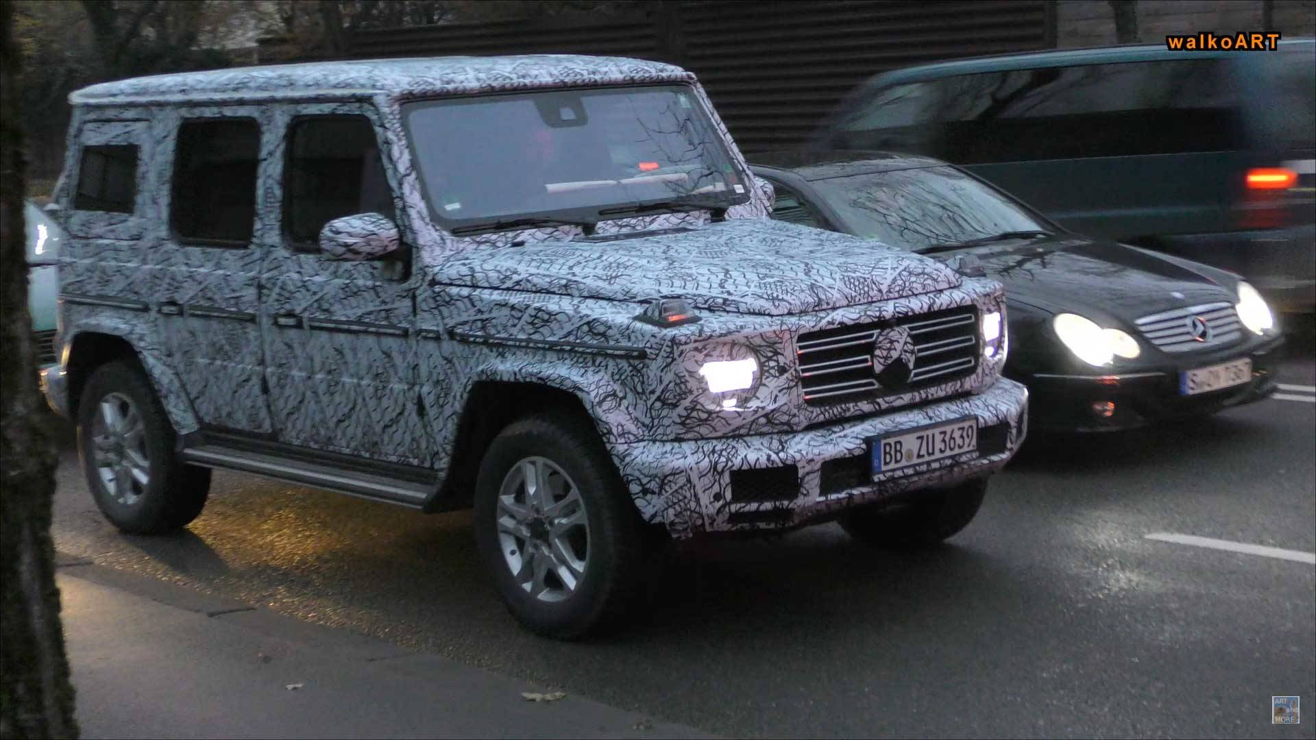 2018 Mercedes G Class Spied Looking Very Much Like A G Class