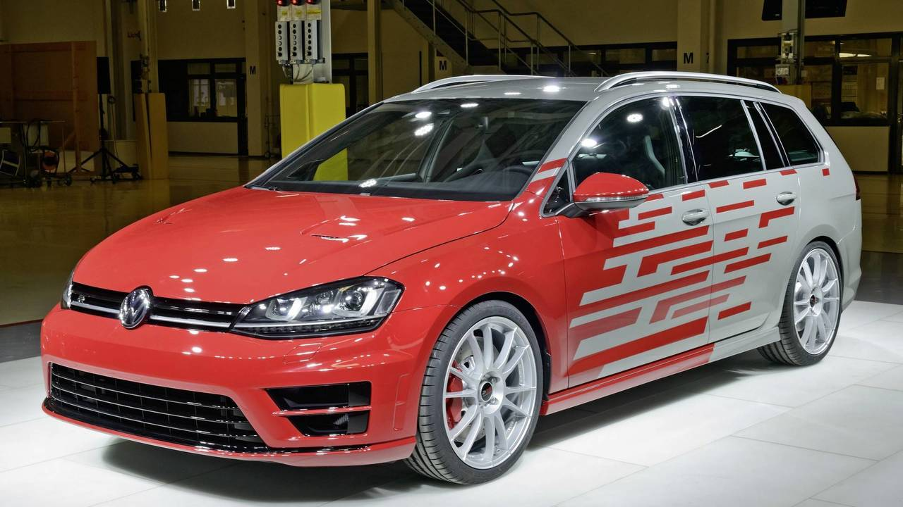 2016 VW Golf R Variant Performance 35 concept
