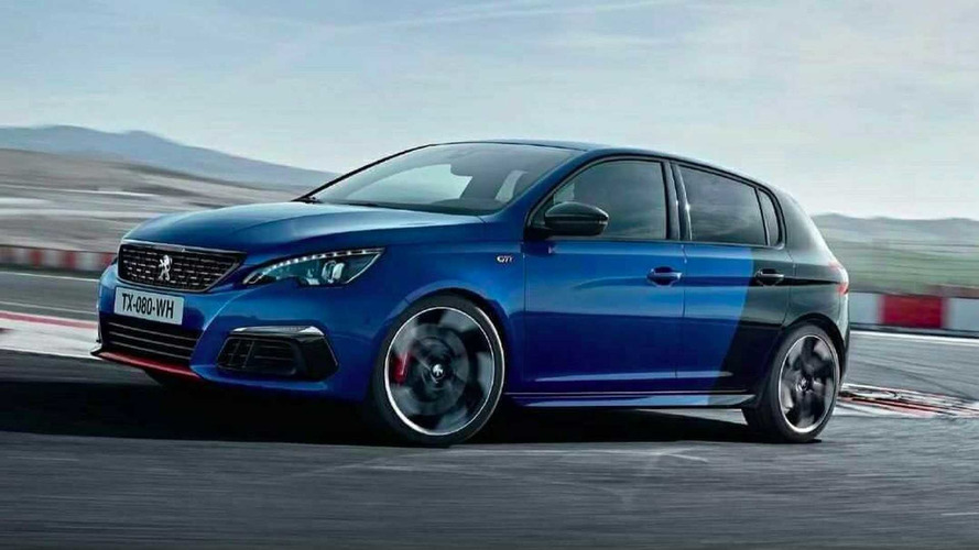 Peugeot 308 GTI Facelift Photo 'Accidentally' Published