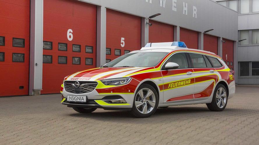 Opel Insignia Sports Tourer itfaiye görevine hazır