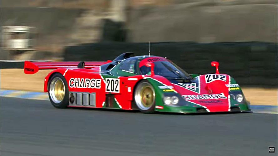 ¿Cómo suena el mítico Mazda 767B en circuito?