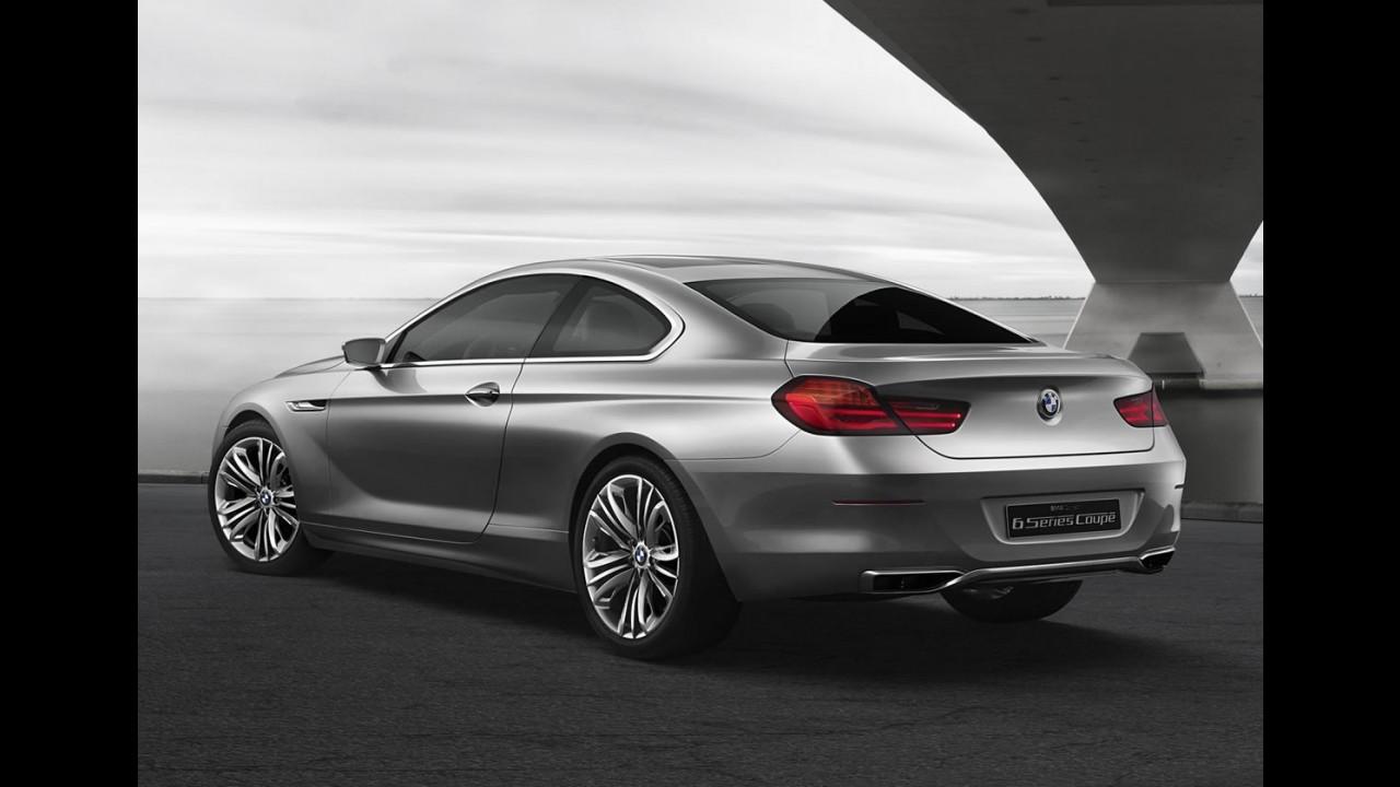 Nova BMW Série 6 estará no Salão de Xangai
