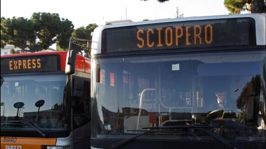 Roma, sciopero dei mezzi pubblici