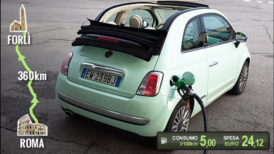 Fiat 500C TwinAir, la prova dei consumi reali Fiat Punto Quanto Consuma on fiat ritmo, fiat stilo, fiat cinquecento, fiat coupe, fiat barchetta, fiat 500 abarth, fiat spider, fiat marea, fiat 500 turbo, fiat cars, fiat bravo, fiat x1/9, fiat panda, fiat doblo, fiat multipla, fiat linea, fiat 500l, fiat seicento,