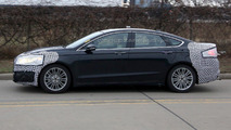 2017 Ford Fusion facelift spy photo