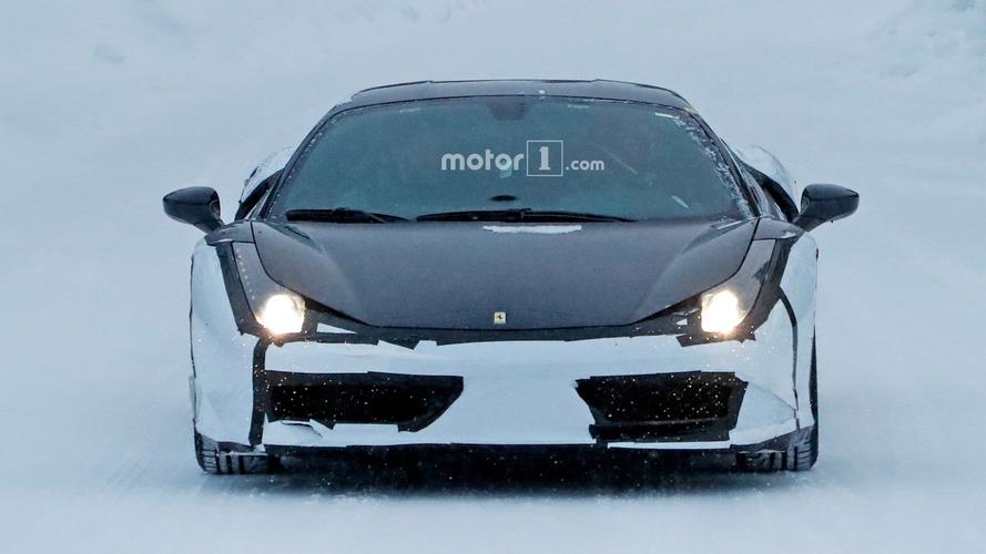 Ferrari 488 kémfotók
