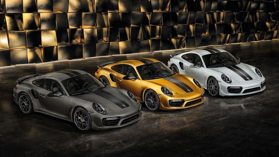 Porsche - Des jantes carbone pour la 911 Turbo S Exclusive Series
