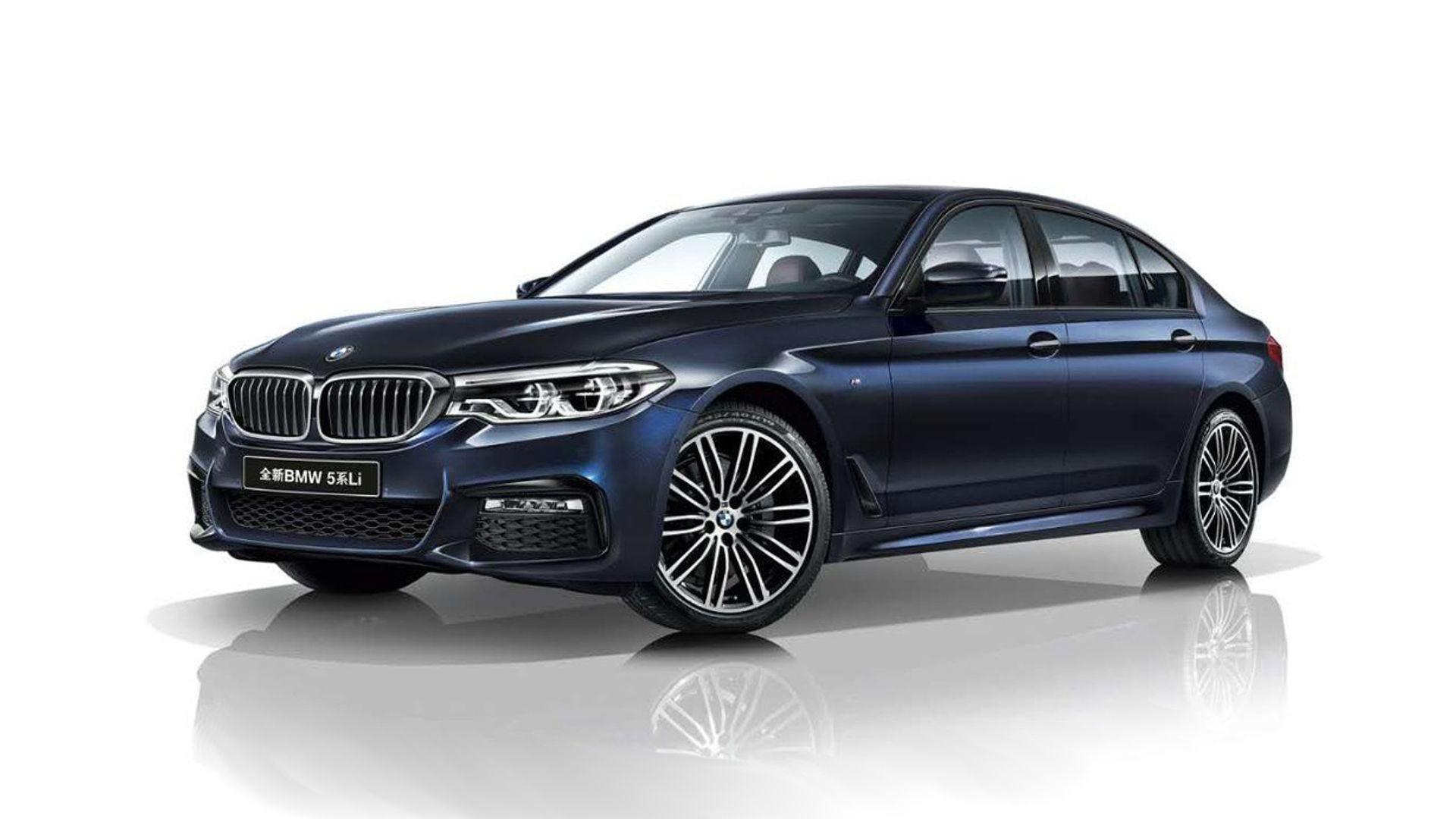 BMW 5 Series Li Long Wheelbase Version Revealed For China