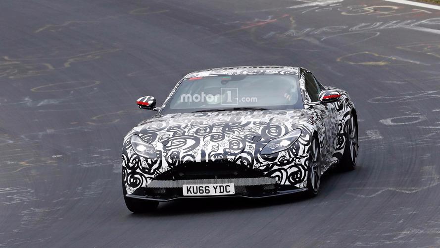 Aston Martin Vantage V8 2017 Photos espion