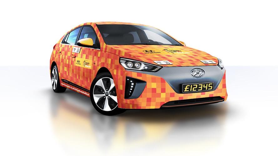 Hyundai Ioniq EV Is The World's First Contactless Car