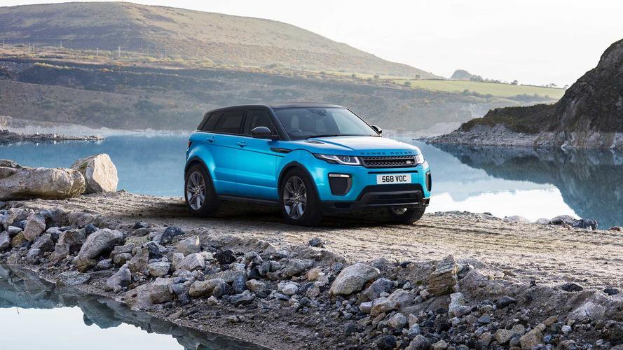 Land Rover Evoque Landmark Edition Celebrates CUV's Huge Success