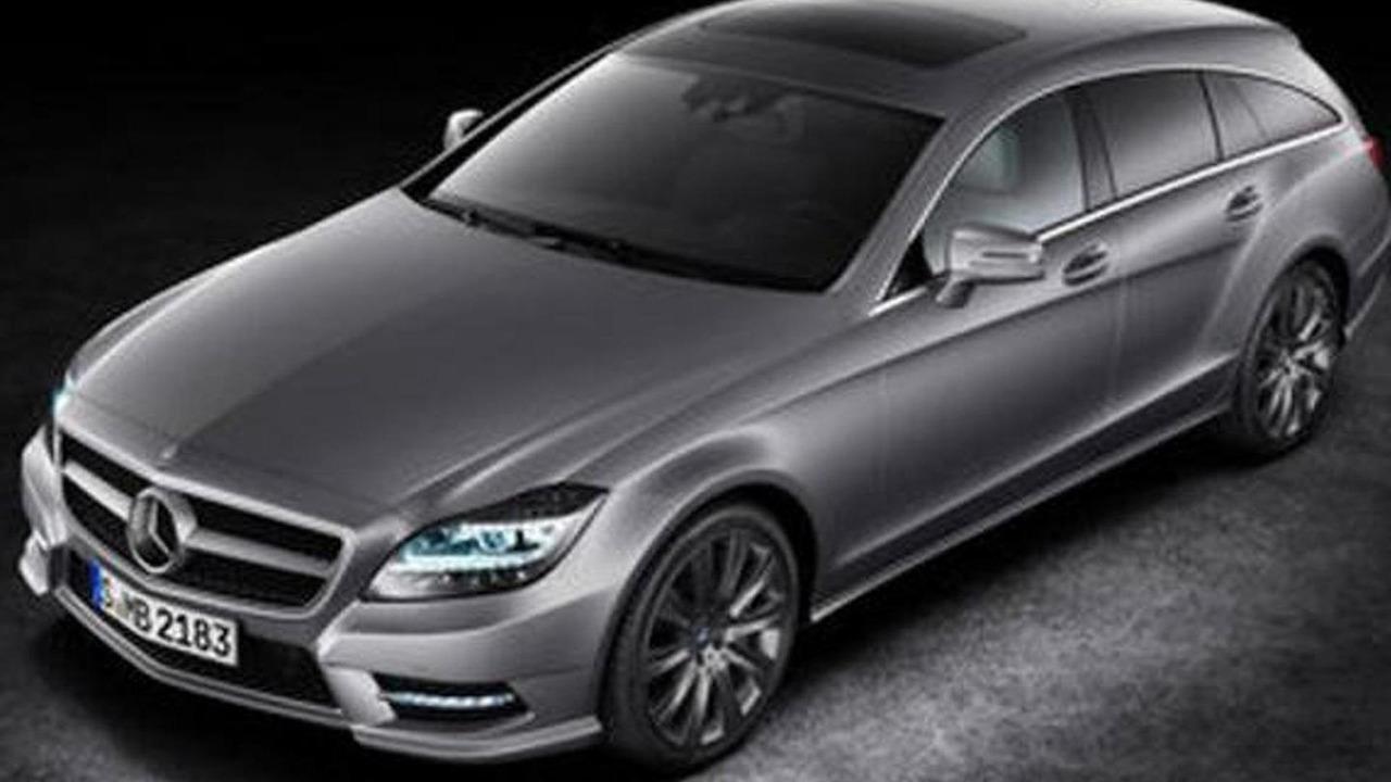 Mercedes CLS Shotting Brake official photo leak