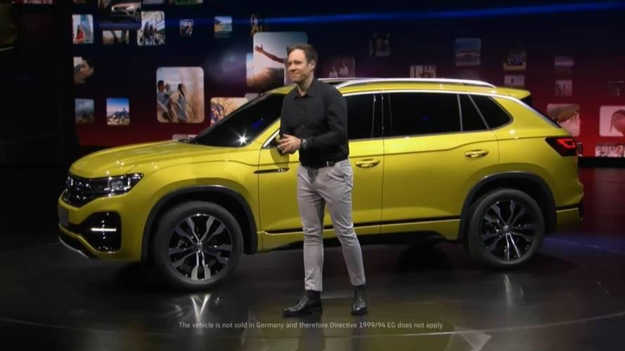 Volkswagen'in orta sınıf SUV'u dünya çapında satılabilir
