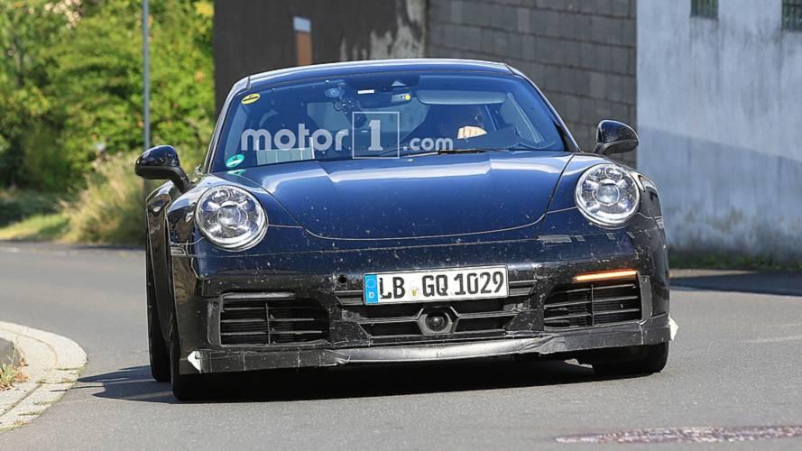 Photos espion - Porsche 911 GTS (2019)