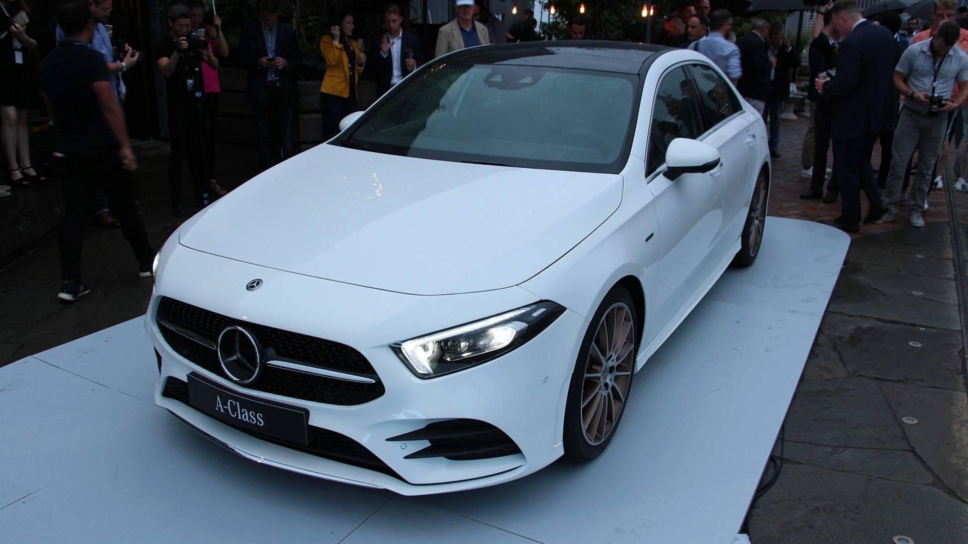 2018 - [Mercedes-Benz] Classe A Sedan - Page 6 2019-mercedes-benz-a-class-sedan