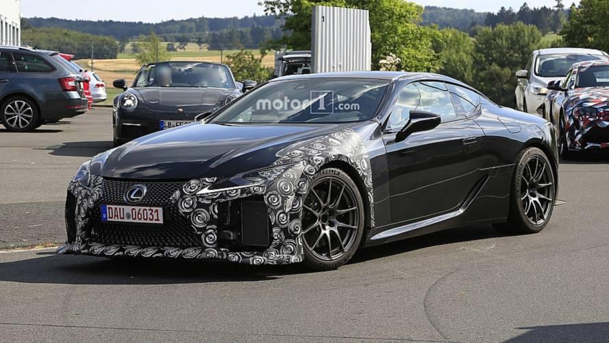Lexus prepara un LC F mucho más poderoso