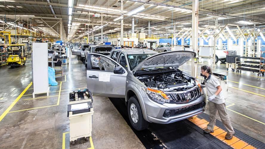 Mitsubishi comemora 20 anos da fábrica de Catalão (GO)