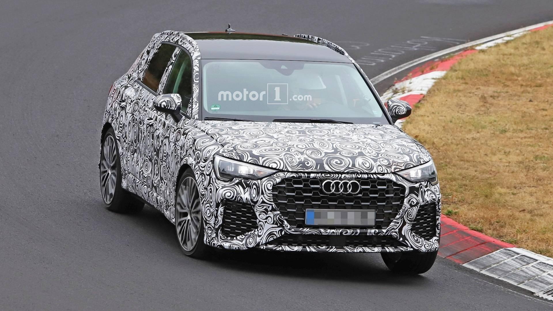 2018 - [Audi] Q3 II - Page 7 2020-audi-rs-q3-spy-photo