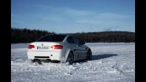 Sul Lago Bredsjon con la BMW M3