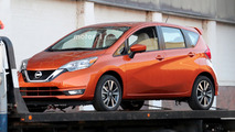 2017 Nissan Versa Note spied undisguised with updated look