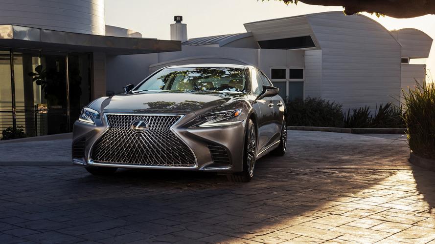 Une Lexus LS électrique ou à hydrogène, c'est apparemment possible