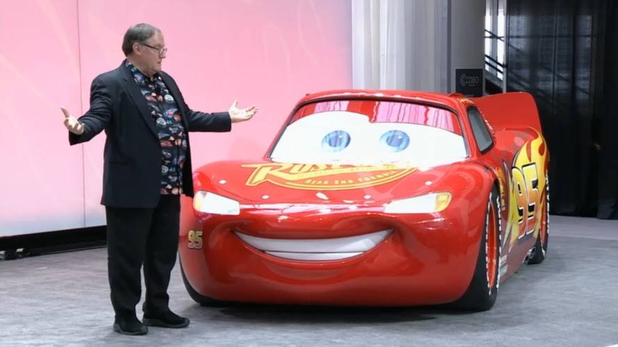 Gerçek boyutlu Şimşek McQueen!