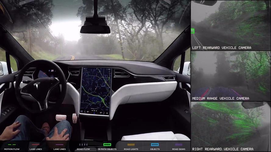 Tesla Autopilot Update Adds Summon, Auto Lane-Change Features