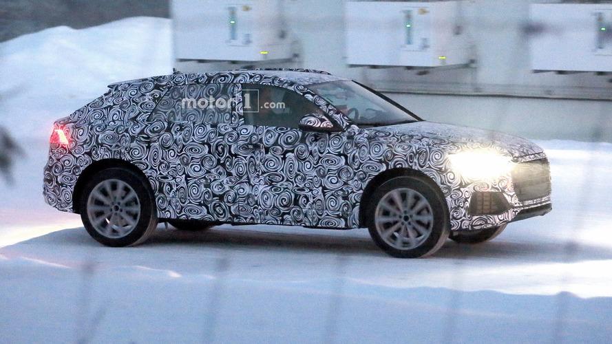 Audi Q8 üretim panelleriyle ilk kez görüntülendi