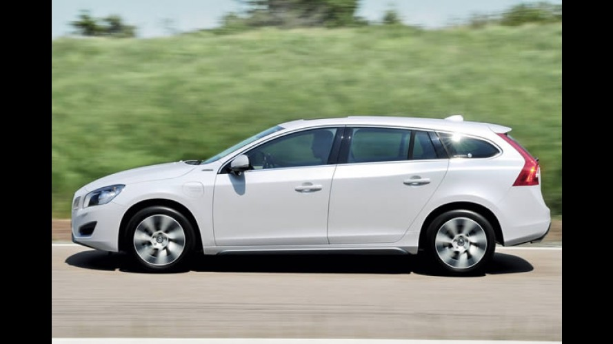 Híbrido: Volvo V60 com consumo de 52,6 Km/l será comercializado já no início de 2012