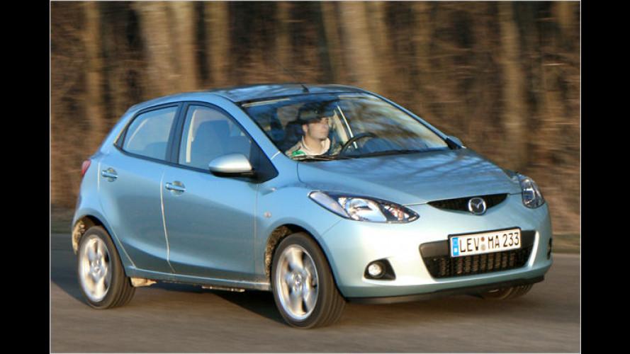 Erfrischendes aus Fernost: Der neue Mazda 2 im Test