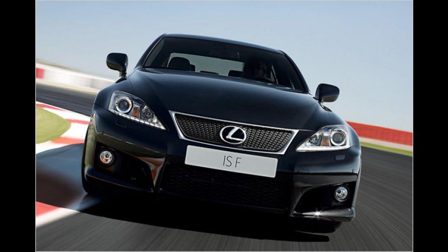Premiere in Paris: Lexus zeigt überarbeiteten IS-F