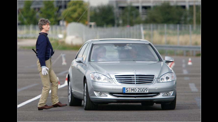 Automatisch ausweichen mit Mercedes