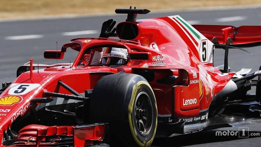 2018 Britanya GP: Vettel yine galip