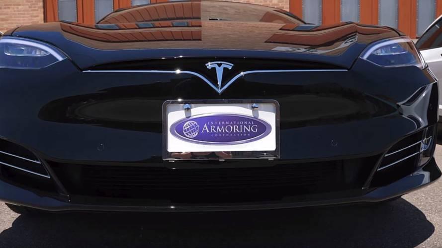 Let's Go Inside This Bulletproof Tesla