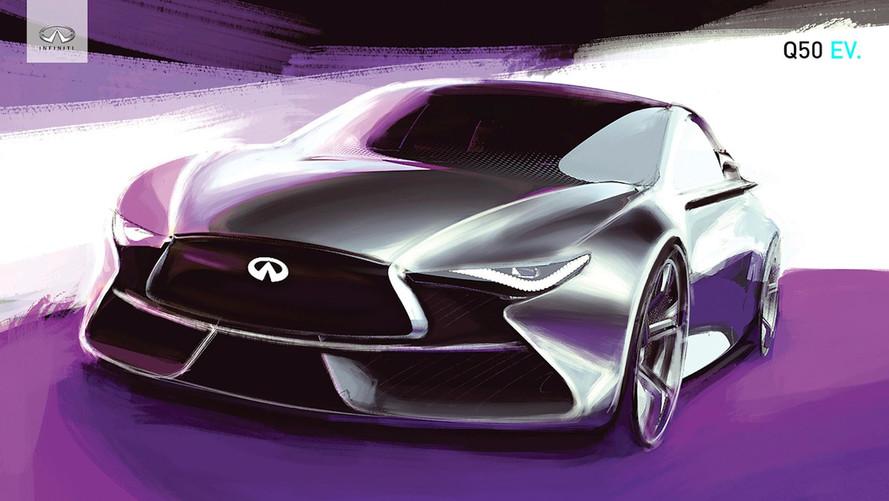 Infiniti dévoilera une voiture électrique en 2019