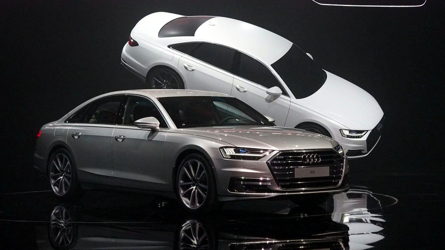 2018 Audi A8 , lazerler, ayak masajı ve sağlam fiyatıyla geldi